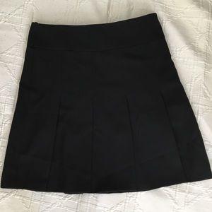 Burberry London Wool Pleated Skirt